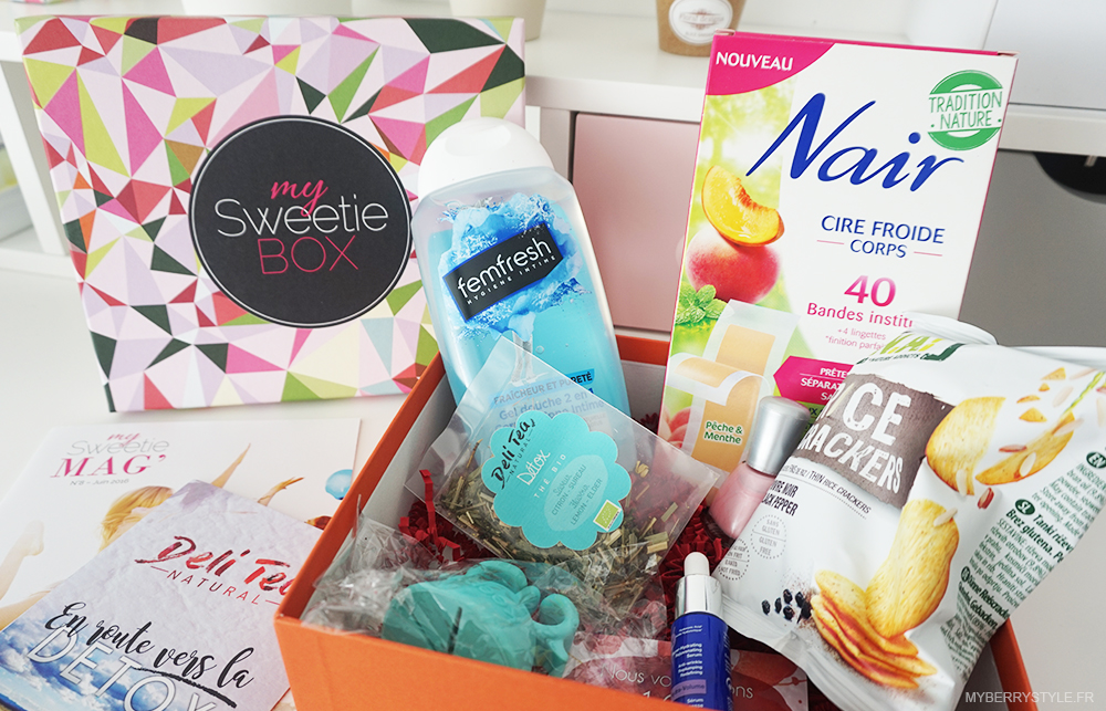 my-sweetie-box-avis-blog-test-juillet-juin-premiere-impression-2016-2