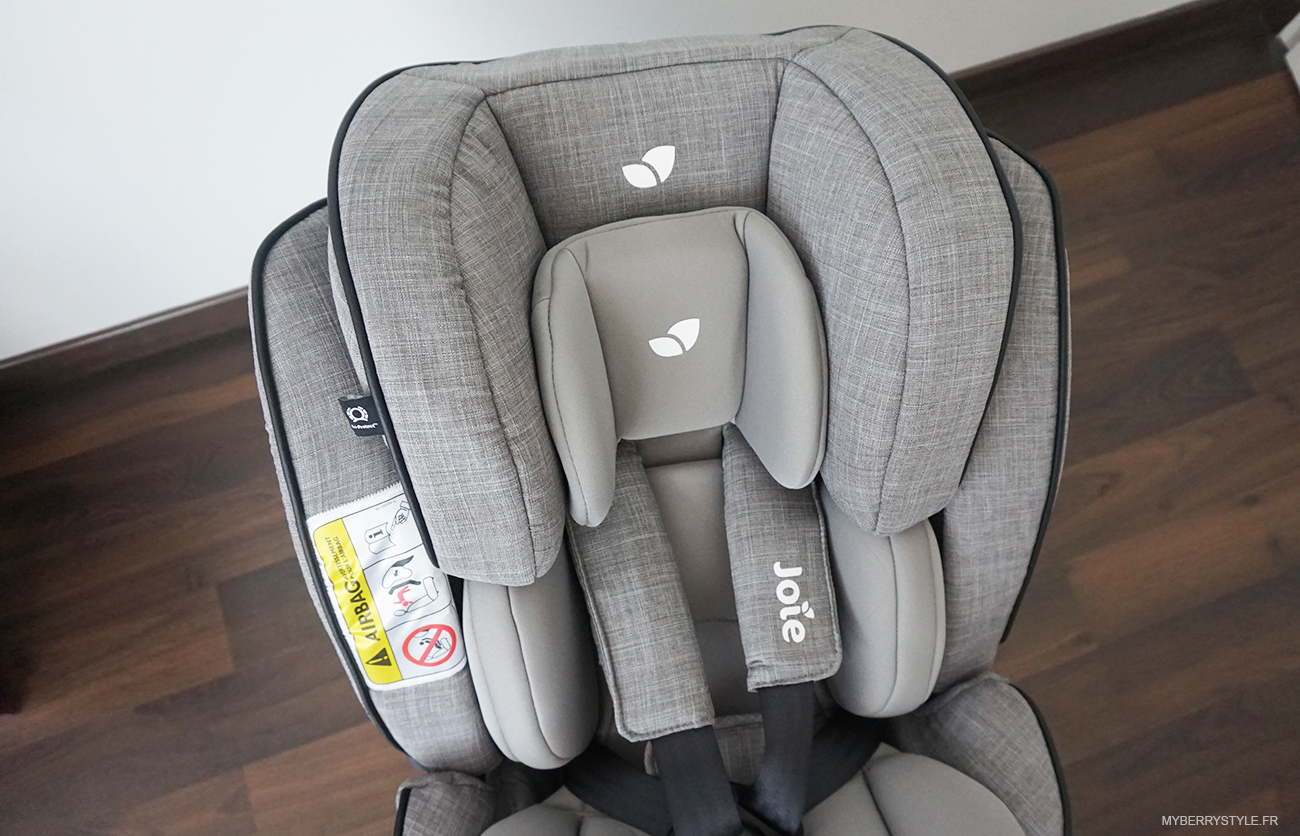 test du nouveau si ge auto stages isofix de joie blog. Black Bedroom Furniture Sets. Home Design Ideas