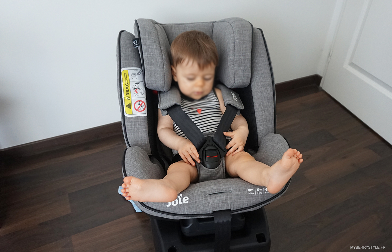 test du nouveau si ge auto stages isofix de joie maman. Black Bedroom Furniture Sets. Home Design Ideas