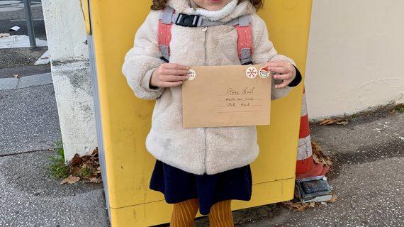 La lettre au père Noël de Fiona, 4 ans